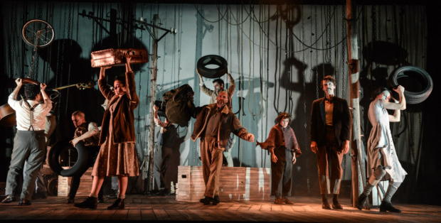 <p>The cast of <em>La Strada</em></p><br />(c) Robert Day