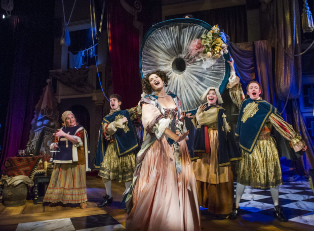 <p>The cast of <em>Nell Gwynn</em></p><br />© Tristram Kenton