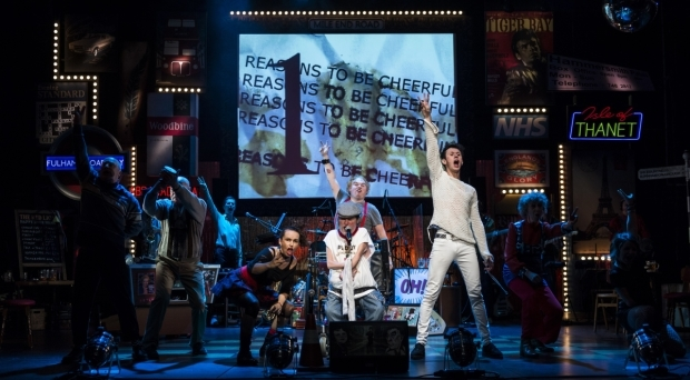 <p>The cast of <em>Reasons to be Cheerful</em></p><br />© Patrick Baldwin