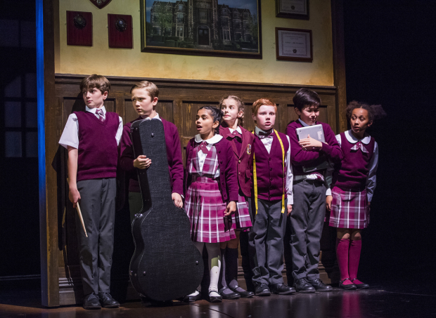 <p>The cast of <em>School of Rock</em></p><br />© Tristram Kenton