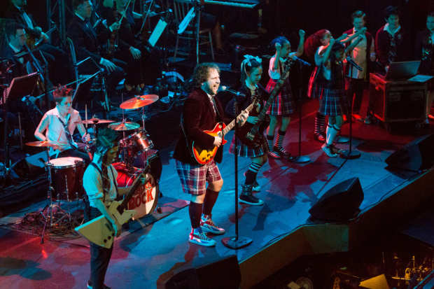<p>The cast of <em>School of Rock</em></p><br />© Peter Gibbons