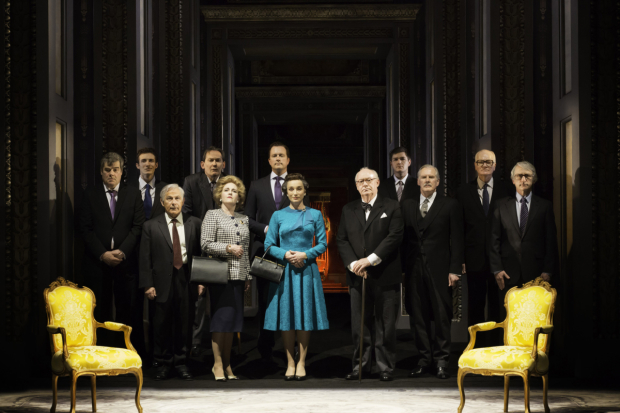 <p>The cast of <em>The Audience</em></p><br />© Johan Persson