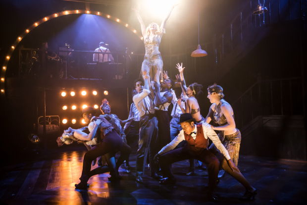 <p>The cast of <em>The Wild Party</em></p><br />© Scott Rylander