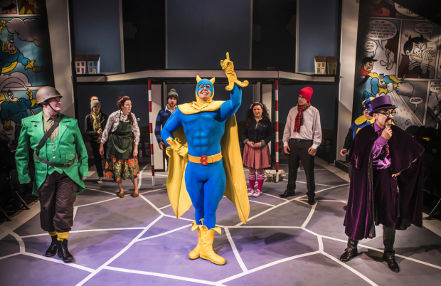 <p>The company of <em>Bananman the Musical</em></p><br />© Pamela Raith