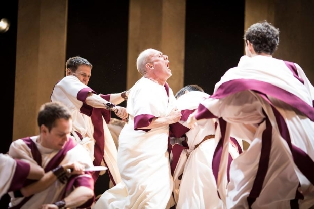 <p>The company of <em>Julius Caesar</em></p><br />© Helen Maybanks
