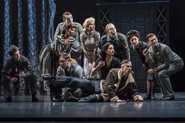 <p>The company of <em>Matthew Bourne&#39&#x3B;s Cinderella</em></p><br />© Johan Persson