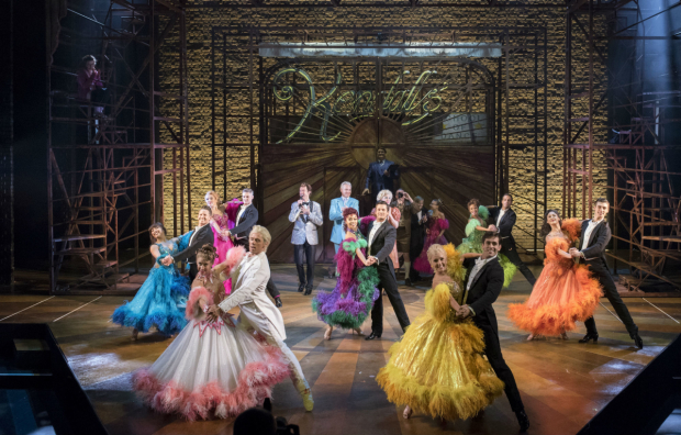 <p>The company of <em>Strictly Ballroom</em></p><br />(c) Alastair Muir