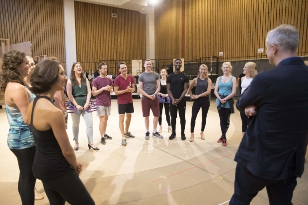 <p>The company rehearsing</p><br />© Johan Persson