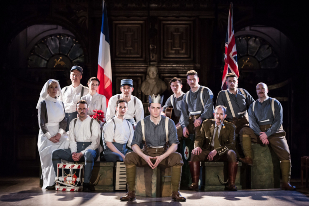 <p>The <em>Henry V</em> team at Holy Trinity in Stratford</p><br />© Scott Rylander
