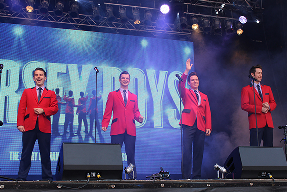 <p>The <em>Jersey Boys</em></p><br />© Ben Hewis
