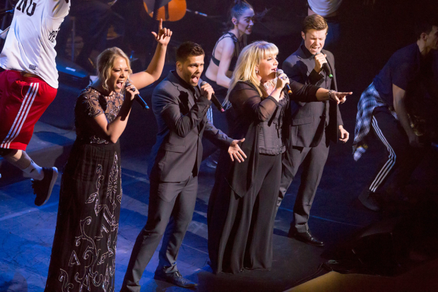 <p>The Lady Gaga Tribute - Amelia Lily, Alexis Gerred, Alison Jiear and Rob Houchen</p>