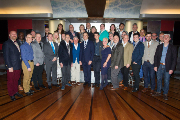 <p>The MTI team</p><br />© Dan Wooller for WhatsOnStage