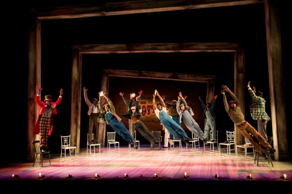 <p><em>The Scottsboro Boys</em> Company</p><br />© Richard Hubert Smith