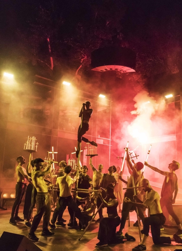 <p>The set of <em>Jesus Christ Superstar</em></p><br />© Johan Persson