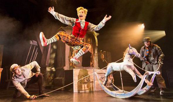 <p><em>The Wind in the Willows</em> at the Duchess Theatre won Best Entertainment and Family</p><br />© Johan Persson