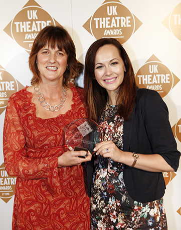 <p>Theatre Employee/Manager of the Year presented by Savannah Stevenson - Hedda Beeby </p><br />© Pamela Raith