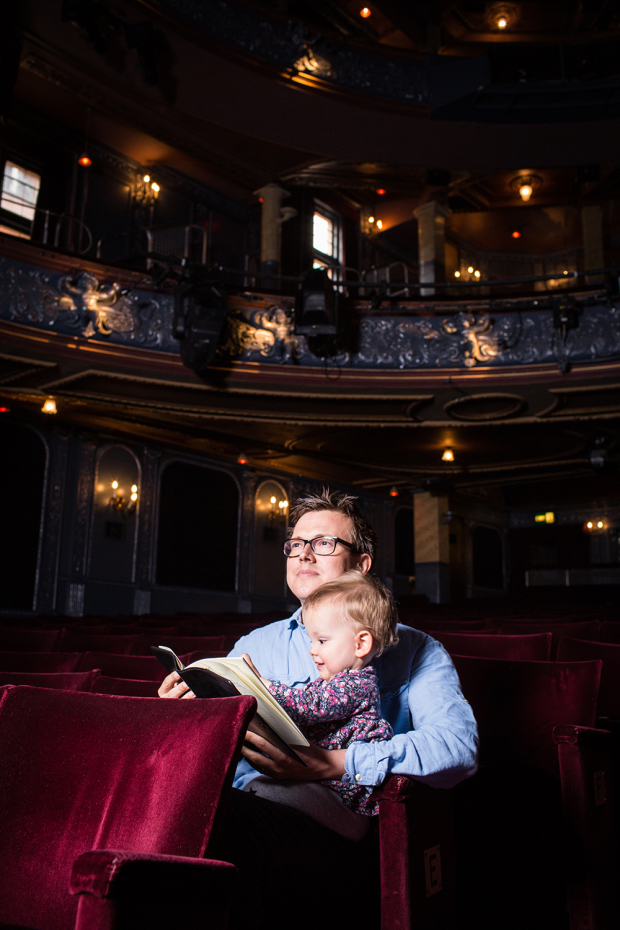 <p>Theo Bosanquet with his daughter Helena</p><br />© Darren Bell