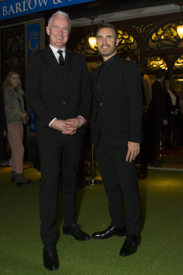 <p>Tim Firth and Gary Barlow</p><br />© Dan Wooller for WhatsOnStage