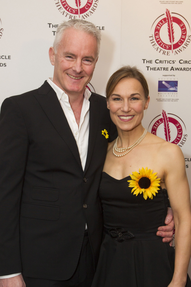 <p>Tim Firth and Joanna Riding</p><br />© Dan Wooller for WhatsOnStage