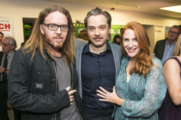 <p>Tim Minchin, Hadley Fraser (Frankenstein) and Rosalie Craig</p><br />© Dan Wooller for WhatsOnStage