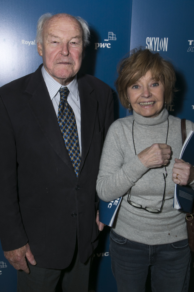 <p>Timothy West and Prunella Scales</p><br />© Dan Wooller