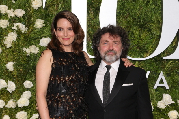 <p>Tina Fey and husband Jeff Richmond</p><br />© David Gordon