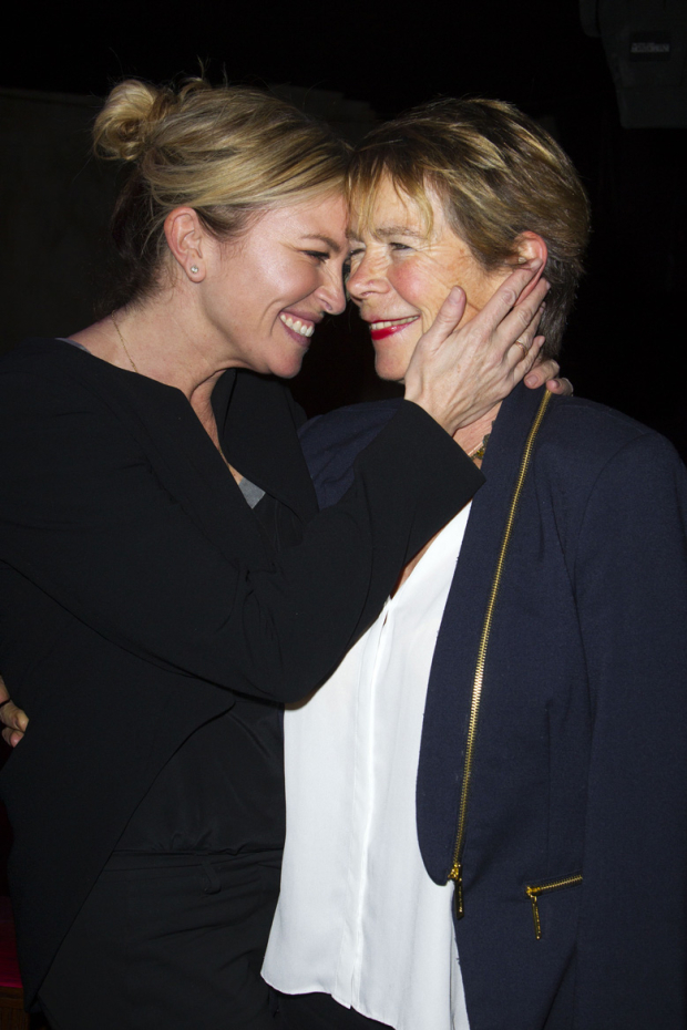 <p>Tina Hobley and Celia Imrie</p><br />© Dan Wooller for WhatsOnStage