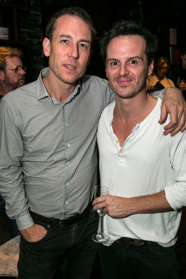 <p>Tobias Menzies and Andrew Scott</p><br />© Dan Wooller for WhatsOnStage