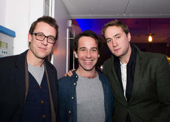 <p>Tobias Menzies, Jonjo O&#39&#x3B;Neill and Oliver Chris</p><br />© Helen Maybanks