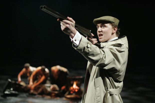 <p>Tom Hiddleston in <em>Cymbeline</em> at the Barbican</p><br />© Keith Pattison