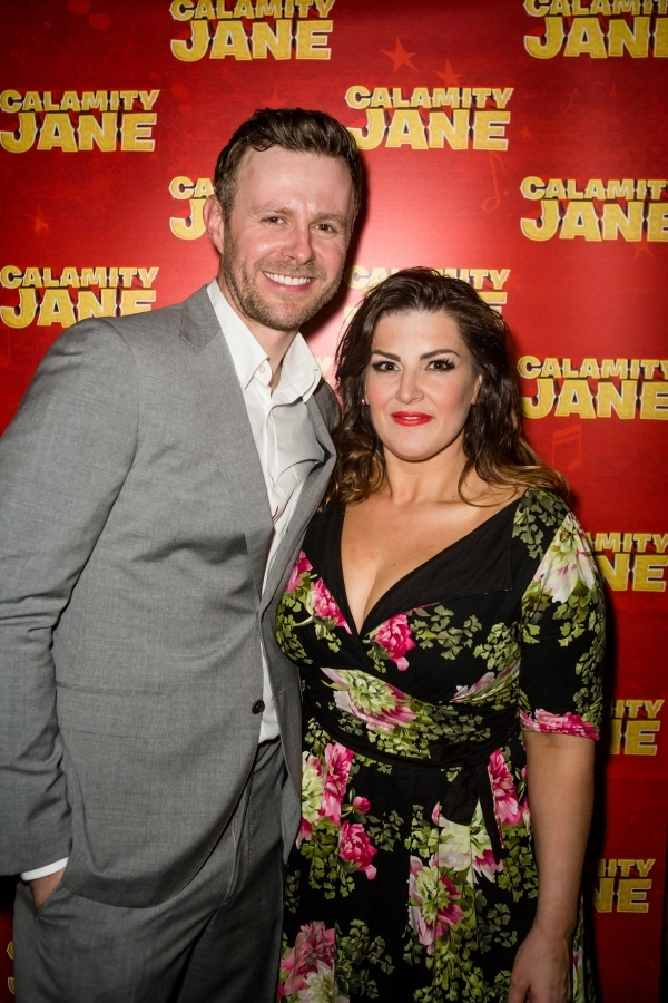 <p>Tom Lister and Jodie Prenger</p><br />© Richard Davenport