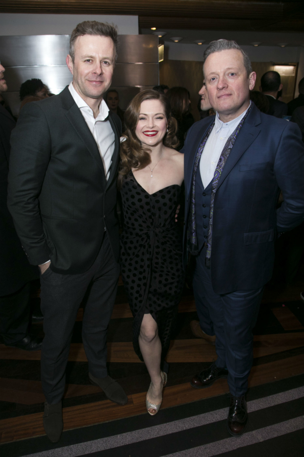 <p>Tom Lister, Clare Halse and Christopher Howell</p>