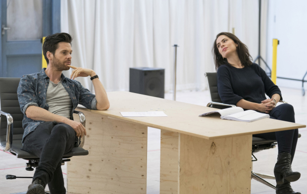 <p>Tom Riley and Hayley Atwell</p><br />© Alastair Muir