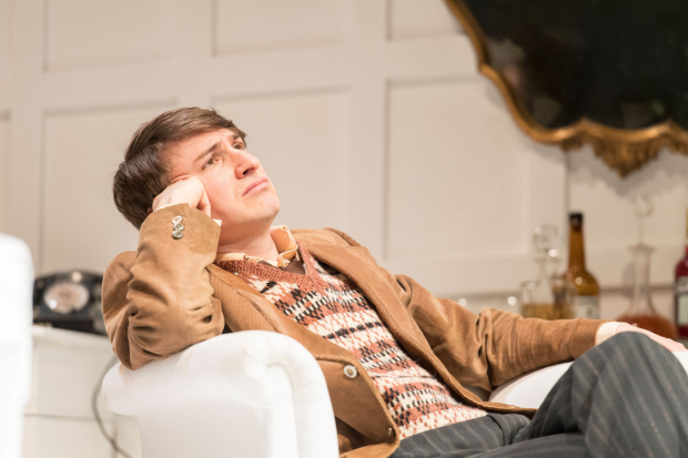 <p>Tom Rosenthal in <em>The Philanthropist</em></p><br />© Manuel Harlan