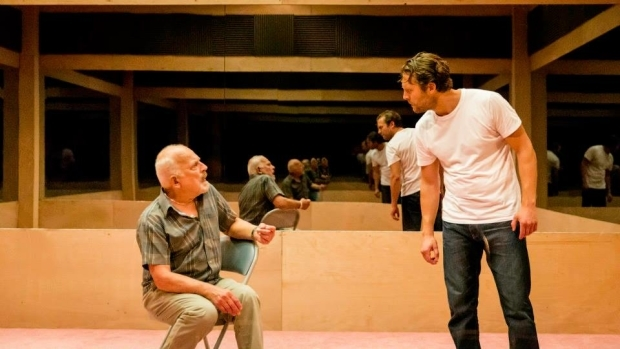<p>Tom Scutt&#39&#x3B;s design for <em>A Number</em> at the Young Vic</p><br />Johan Persson