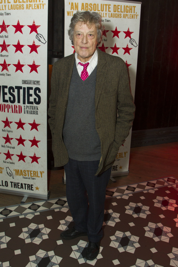 <p>Tom Stoppard (author)</p><br />© Dan Wooller for WhatsOnStage