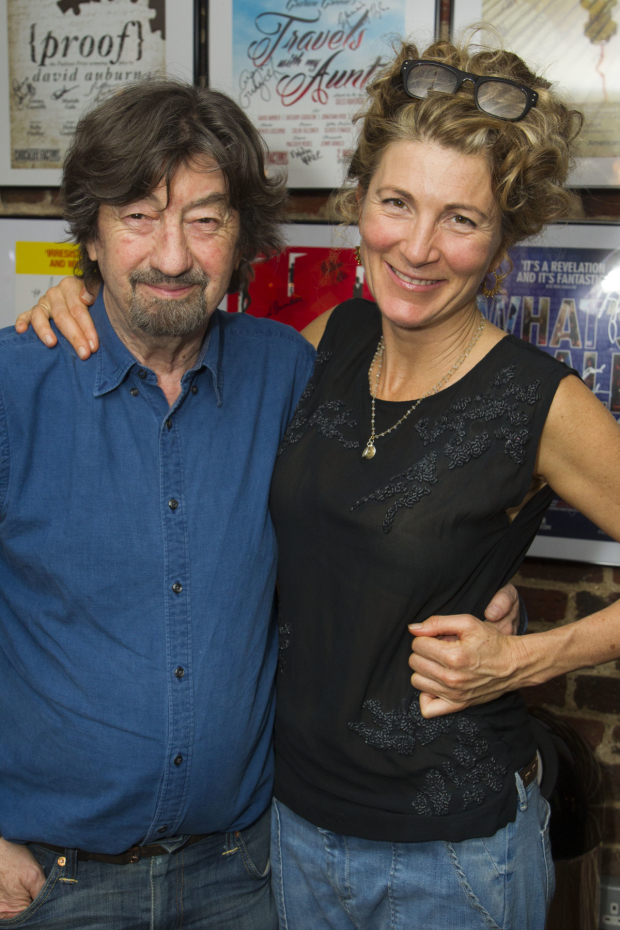 <p>Trevor Nunn (director) and Eve Best (Olivia Brown)</p><br />© Dan Wooller for WhatsOnStage