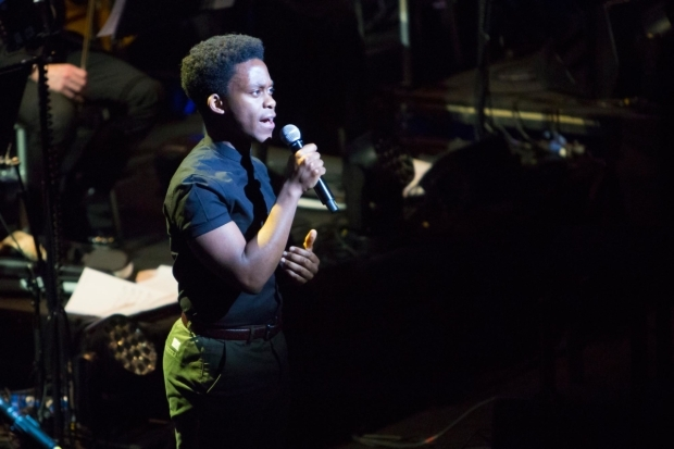 <p>Tyrone Huntley singing &quot&#x3B;Waving Through a Window&quot&#x3B; from <em>Dear Evan Hansen</em></p><br />© Peter Gibbons