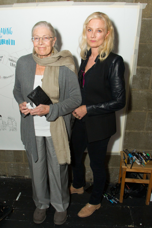 <p>Vanesssa Redgrave and Joley Richardson</p><br />© Dan Wooller for WhatsOnStage