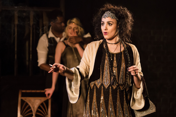 <p>Victoria Hamilton-Barritt as Kate in <em>The Wild Party</em></p><br />© Scott Rylander