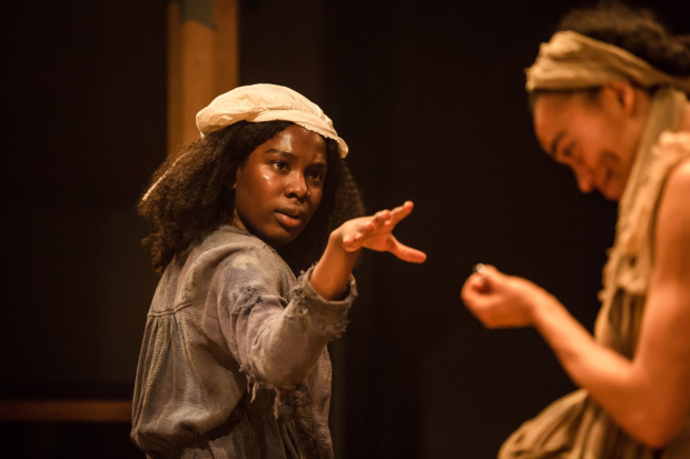 <p>Vivian Oparah and Cassie Clare in <em>An Octoroon</em> </p><br />©The Other Richard