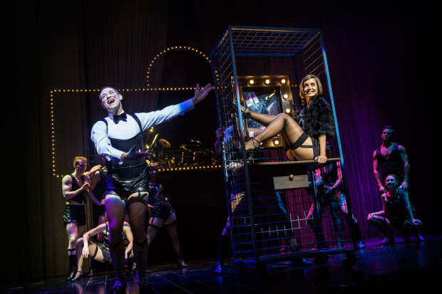<p>Will Young and Louise Redknapp in <em>Cabaret</em></p><br />© Pamela Raith