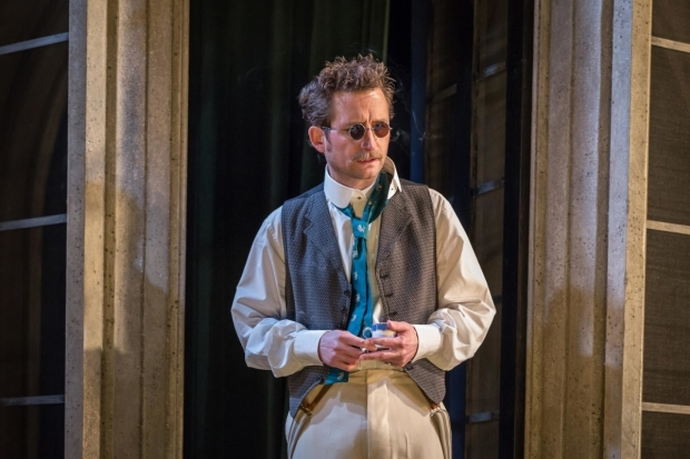 <p>William Mannering as Lord Alfred in <em>A Woman of No Importance</em></p><br />© Marc Brenner