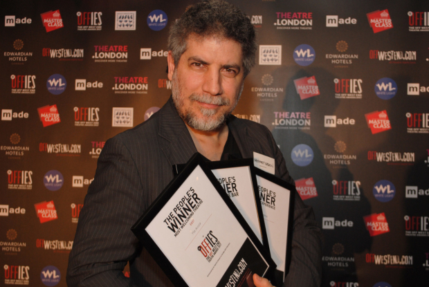 <p>Mehmet Ergen - Arcola Theatre, winner of public vote in all categories </p><br />© Anthony Ofoegbu