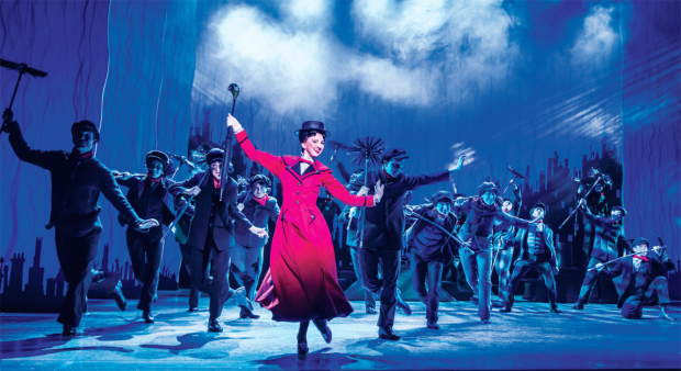 <p>Zizi Strallen as Mary Poppins</p><br />© Johan Persson