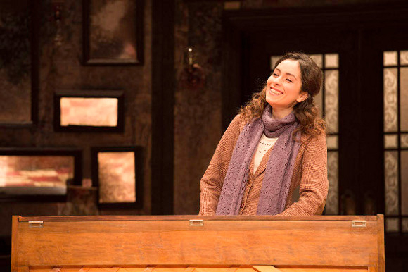 <p>Zrinka Cvitešić won Best Actress in a Musical for <em>Once</em> at the Phoenix Theatre</p>