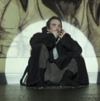First look at Cillian Murphy in Complicité's <em>Grief is the Thing With Feathers</em>