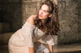 First look: Lily James in Romeo and Juliet