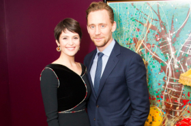 In pictures: Tom Hiddleston celebrates with Gemma Arterton and cast of Saint Joan