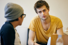We chat to Douglas Booth, Patsy Ferran and the cast of Speech and Debate